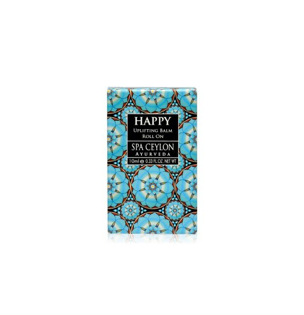 HAPPY - Uplifting Balm Roll On 10ml - roll-on povzbudzujúci balzam