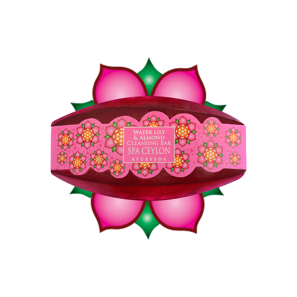 WATER LILY & ALMOND - Cleansing Bar 70g - čistiace mydlo