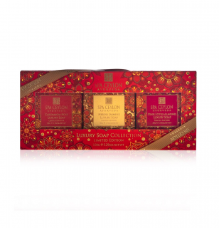 LUXURY SOAP COLLECTION 150g - Limited Edition - kolekcia luxusných mydiel