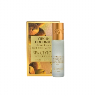 VIRGIN COCONUT - Night Repair Face Treatment Oil Roll On 10ml - obnovujúca nočná olejová kúra na tvár