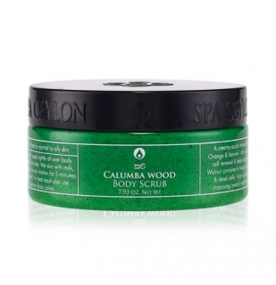 CALUMBA WOOD - Body Scrub 225g - telový peeling