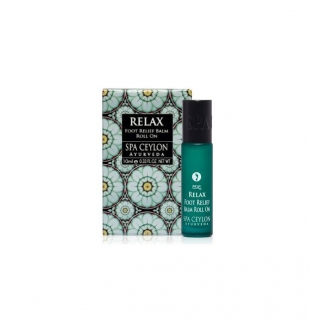 RELAX - Foot Relief Balm Roll On 10ml - roll-on balzam na unavené chodidlá