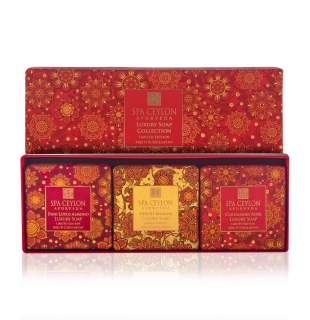 LUXURY SOAP COLLECTION 300g - Limited Edition - kolekcia luxusných mydiel